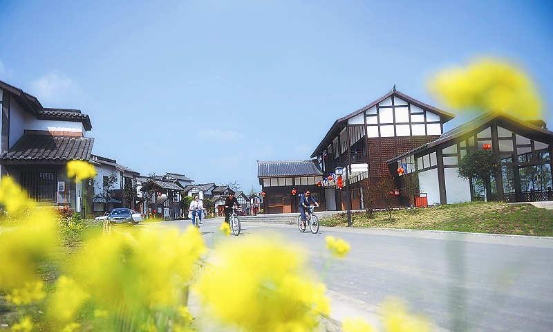 彭州全面建成幸福美丽新村91个-彭米网