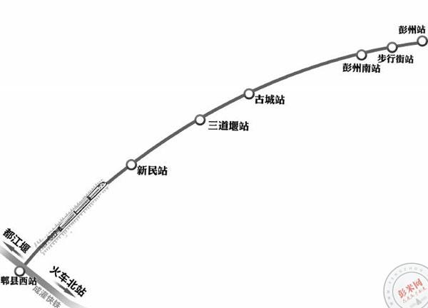 2~3年成彭快铁将实现公交化运营(附视频:市民监督 问政彭州2016)-彭米网