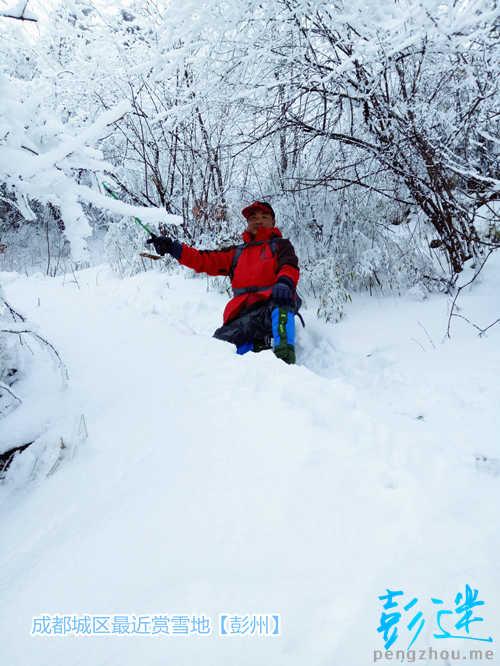 成都彭州现大型冰瀑群:浪凝百丈崖 垂冰倚山挂-彭米网