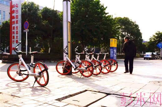mobike 摩拜单车登陆彭州 2000辆共享单车供彭州市民选择骑行-彭米网