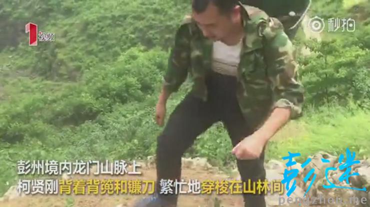 彭州小伙柯贤刚  深山直播成网红-彭米网