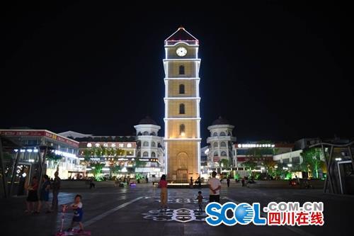 彭州地标钟楼停摆 城市精细化管理促钟声再鸣-彭米网